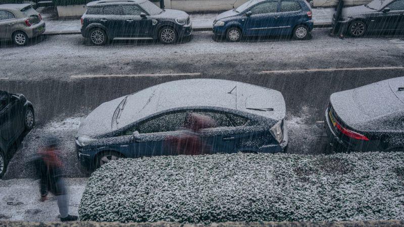 Лайфхаки при езде в снегопад